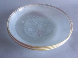 Glass plates 3 pcs., d 16 cm