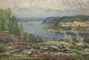 The river Daugava