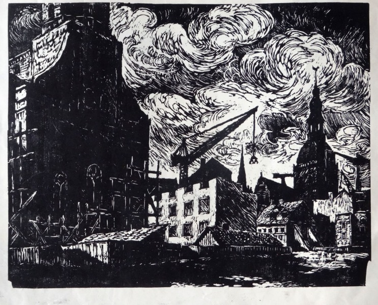 Riga after the war