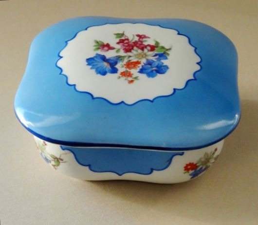 Porcelain Jewelry box